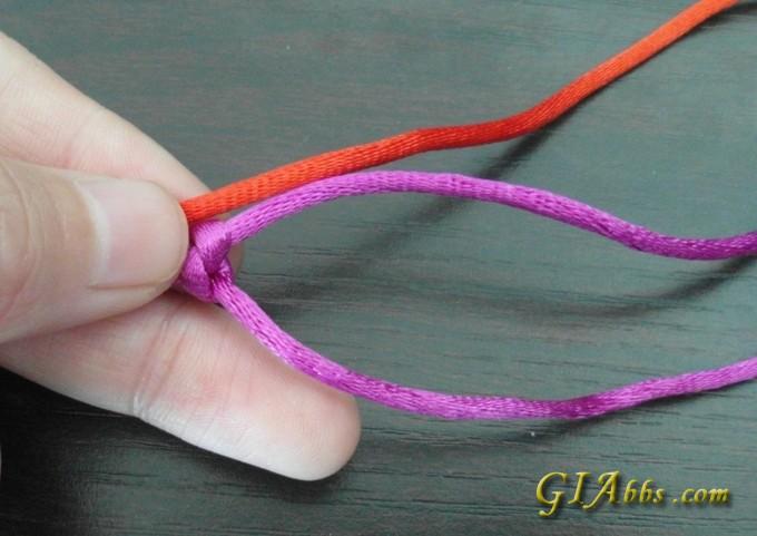 日月星辰手链编织方法